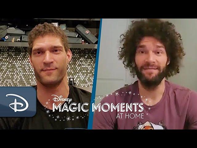 #DisneyMagicMoments: NBA Stars Brook & Robin Lopez Share Favorite Walt Disney World Resort Memories