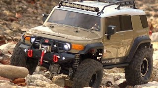 HPI Venture Toyota FJ-Cruiser - A Day in Winter - Away from the Streets!