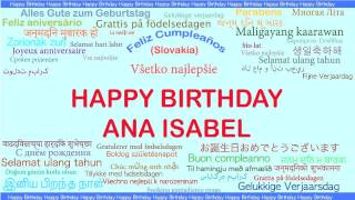 AnaIsabel   Languages Idiomas - Happy Birthday