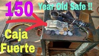Safe Gives Up CIVIL WAR GUN & GOLD ! Caja Fuerte regala PISTOLA DE GUERRA CIVIL Y ORO !!!