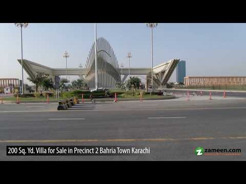 BRILLIANT OFFER QUAID VILLA FOR SALE AT REASONABLE PRICE AT BAHRIA TOWN