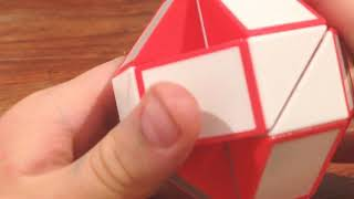 How to solve a Rubix snake (light)