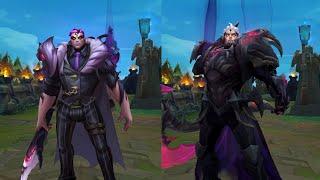 Crime City Nightmare Darius vs God-King Skin MODEL Comparison