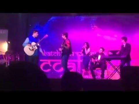 The Band : Kiasma (Instrumental piece + Sweet Child O' Mine) performance at coalesce
