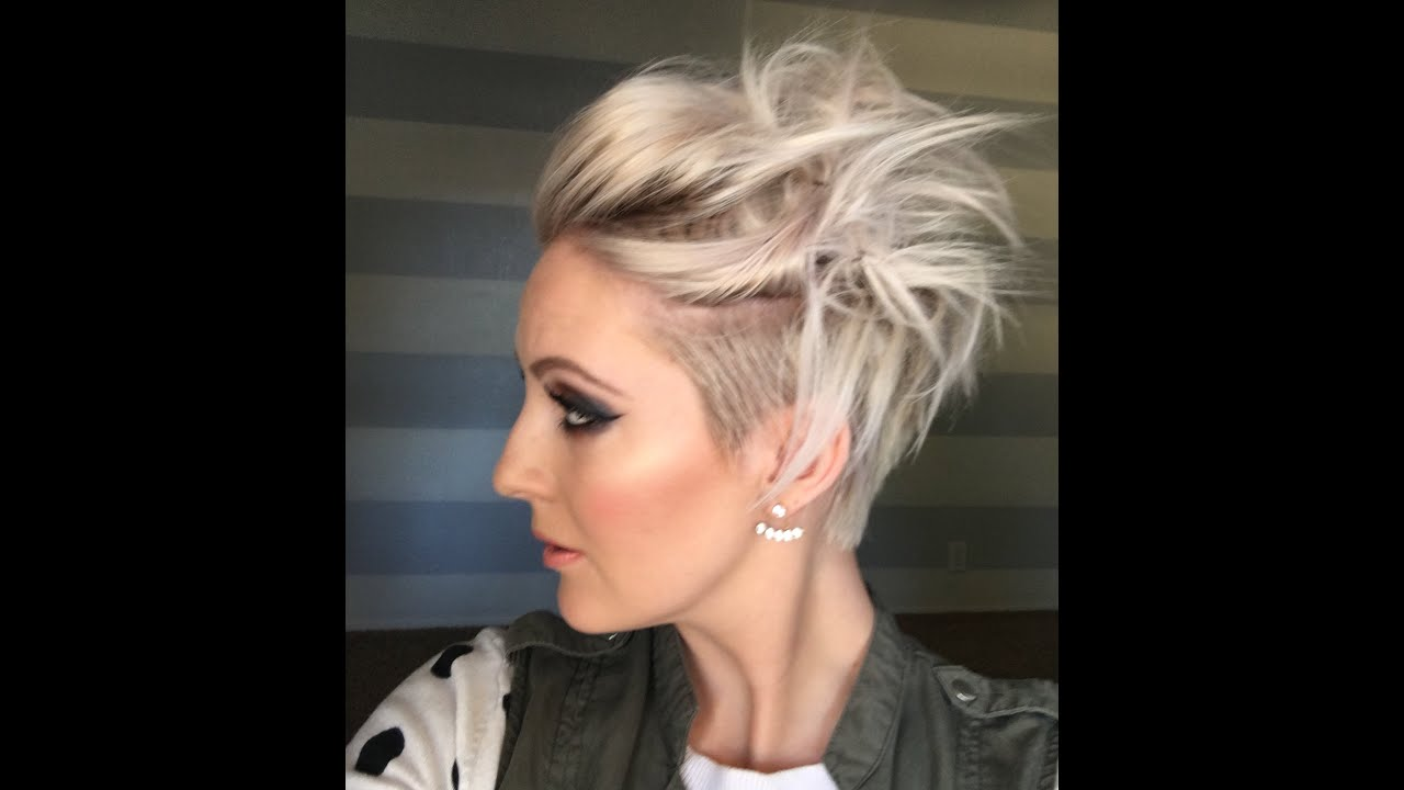 Very Short Hairstyles: Quick Messy Short Hairstyle