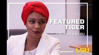 LSU Featured Tiger, Firdaws Ashiru thumbnail