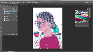 Emma, digital illustration