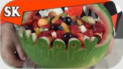 HEALTHY BIRTHDAY CAKE - LOW FAT Alternative Birthday Cake - Fruit Salad
