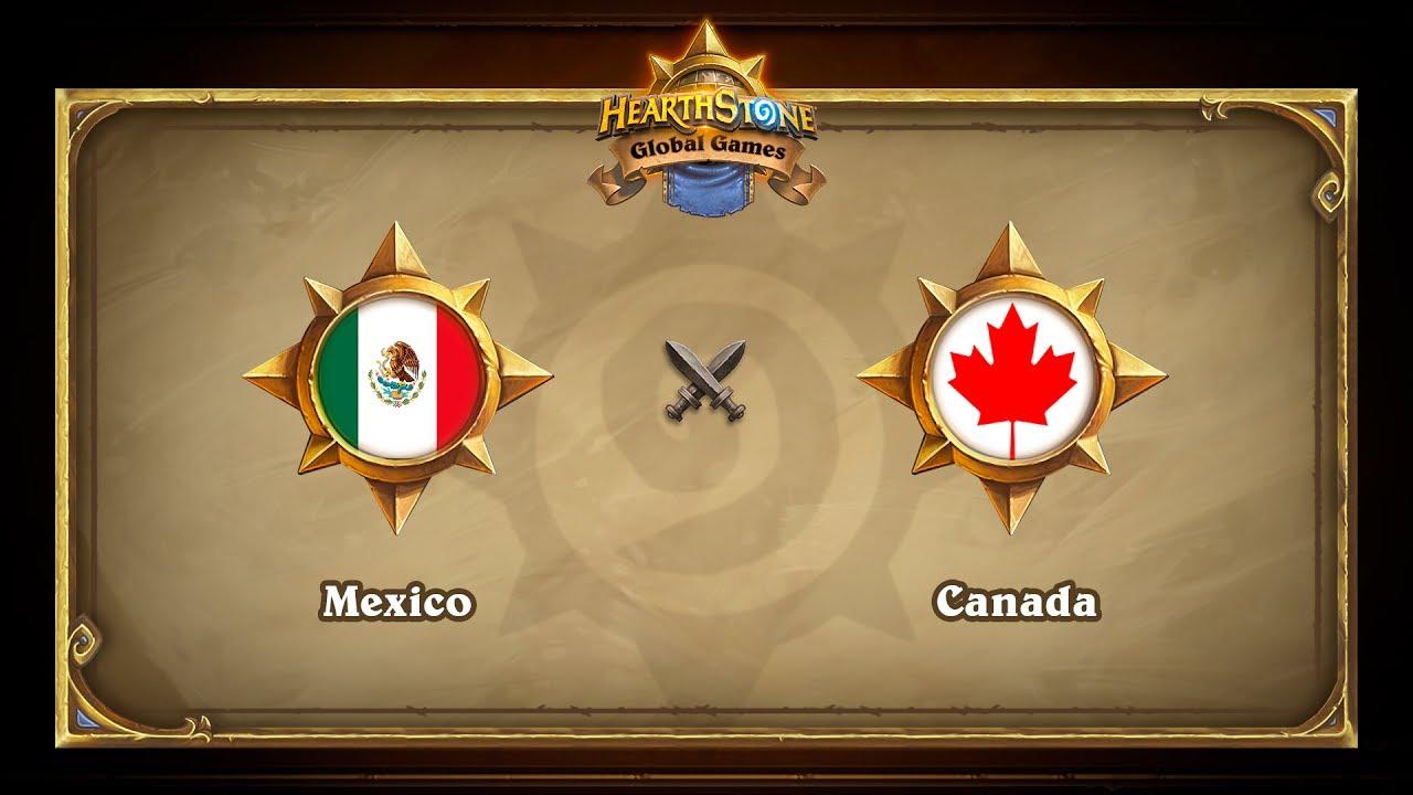 Мексика vs Канада, Hearthstone Global Games Phase 2