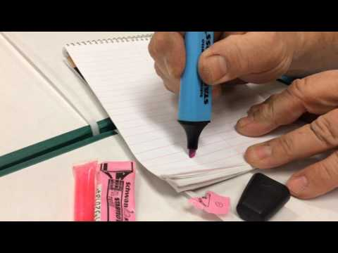 How to Change the Color of a Schwan Stabilo Boss Highlighter