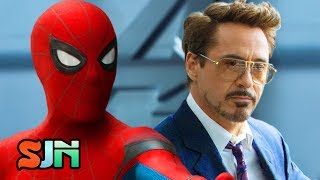 Spider-Man, Tony Stark's Intern! (Spider-Man Homecoming Trailer #3)