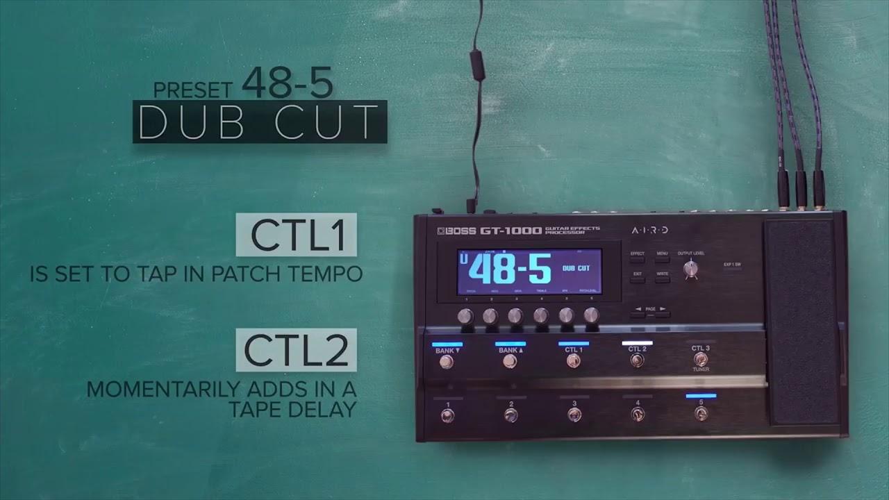 boss gt 1000 guitar effects processor preset sound. Black Bedroom Furniture Sets. Home Design Ideas