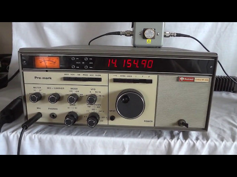 Rockwell Collins HF-380 professional HF SSB transceiver