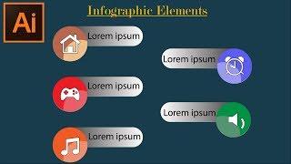 Adobe Illustrator CC Tutoriels -- Comment Créer des Info-Éléments graphiques