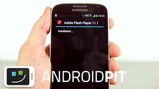 Installer Flash Player sur Android