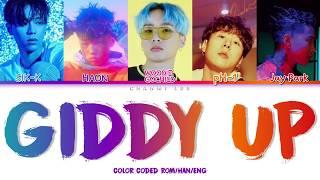 Sik-K, HAON, pH-1, Woodie Gochild, Jay Park - GIDDY UP (Color Coded Lyrics HAN/ROM/ENG)