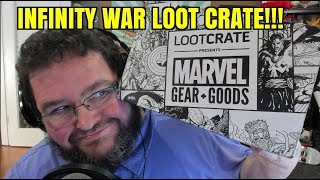 INFINITY WAR GOODIES! Marvel Gear + Goods Loot Crate June 2018!