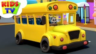 Wheels On The Bus | Baby Bao Panda | Nursery Rhymes & Songs For Babies - Kids TV