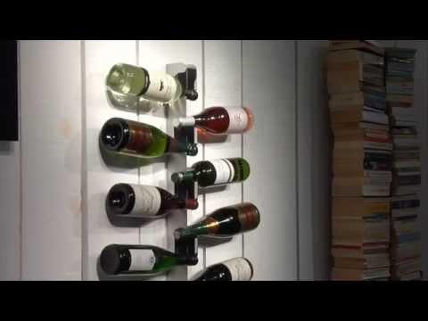Botelleros botelleros de madera para el vino botell doovi - Botelleros de madera para vino ...