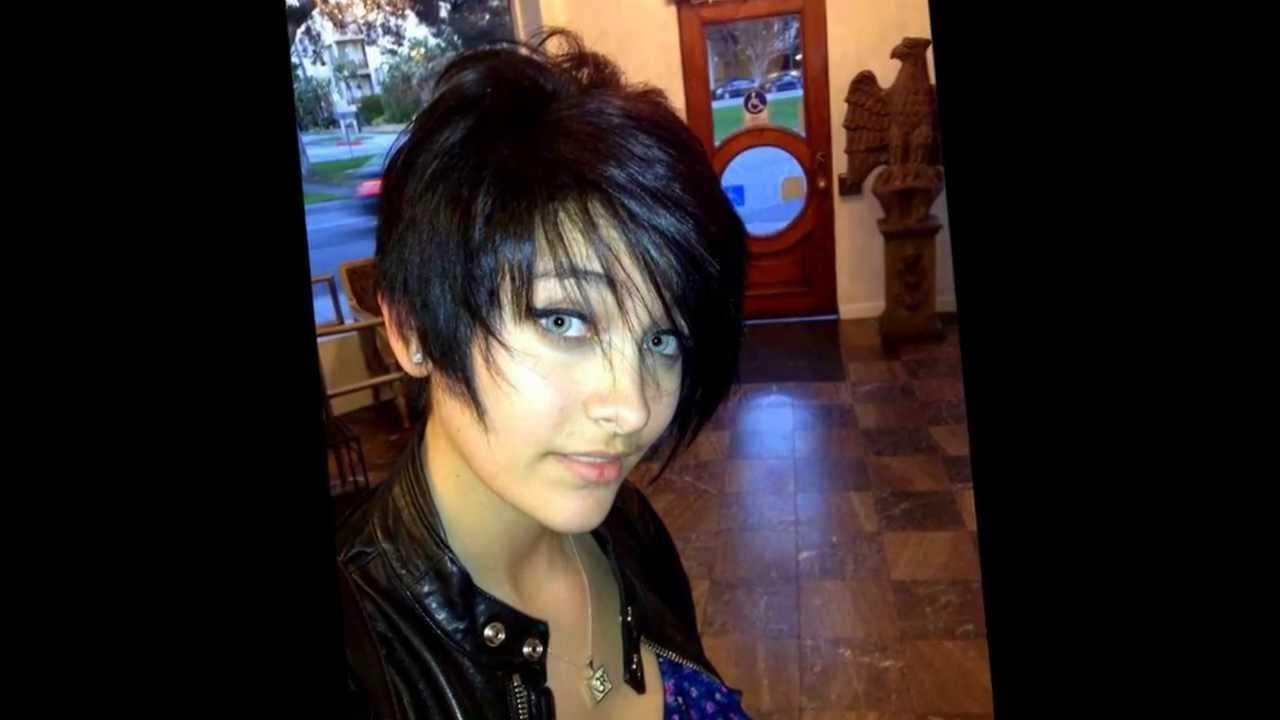 Paris Jackson Short Hair Youtube