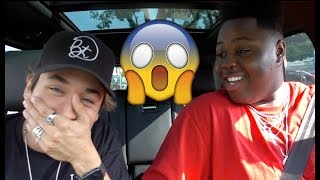 DRIVING WITH BRENNEN TAYLOR (tea was SPILLED)