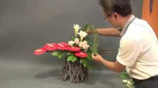 видео Композиции из цветов