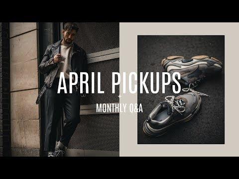 april-favourite-pickups-|-monthly-q&a-|-men's-fashion-|-daniel-simmons