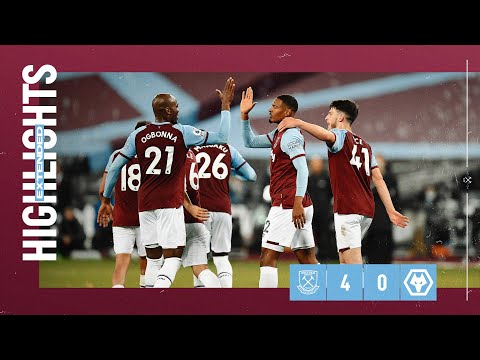 EXTENDED HIGHLIGHTS | WEST HAM UNITED 4-0 WOLVES