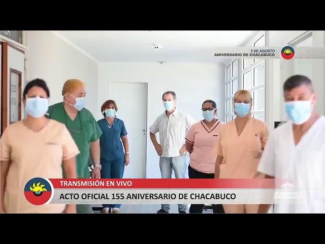Aniversario de Chacabuco - Acto Oficial
