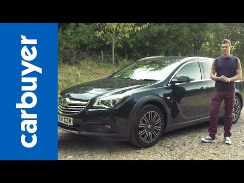 Vauxhall Insignia Country Tourer 2014 review Carbuyer