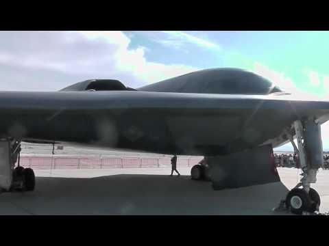 Stealth Bomber B-2 Extreme Close Up [HD] Spirit
