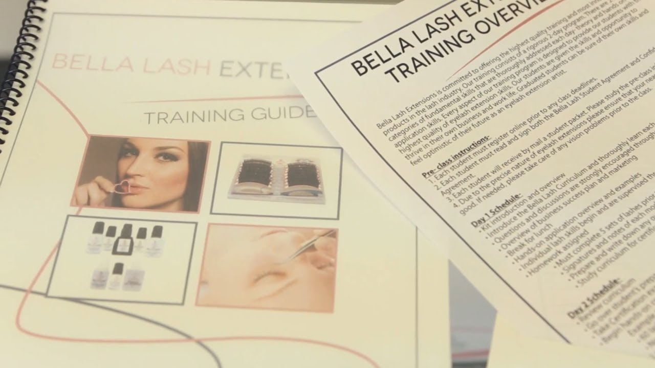 Bella Lash Training And Certification Youtube