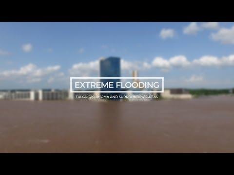 Extreme Flooding In Tulsa, Oklahoma And Surrounding Areas