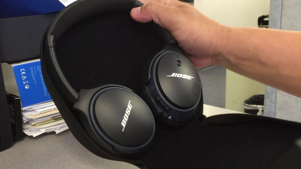 ... Unboxing of Bose SoundLink around-ear wireless headphones II - YouTube
