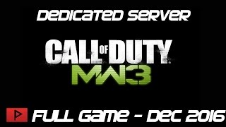 [How To] Patch COD MW3 Steam Dedicated Tools Properly For Online Play (Dec.  2016 Update)