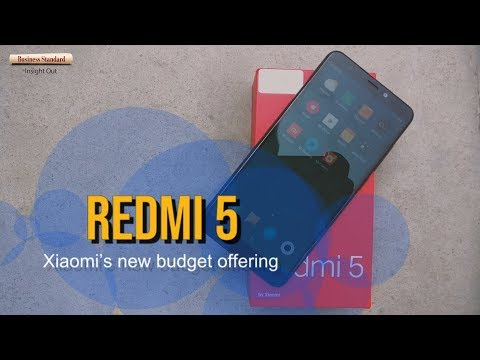 Xiaomi Redmi 5: Hands-on and quick preview