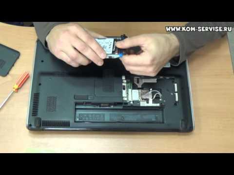 Замена жесткого диска на ноутбуке HP DV6 1450, 2022