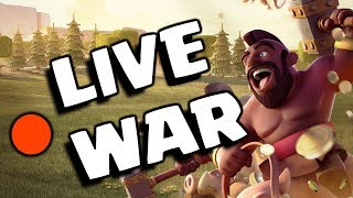 🔴 LIVE WAR ATTACKS in Last Minutes 2018 😎 || Clash Of Clans LIVE