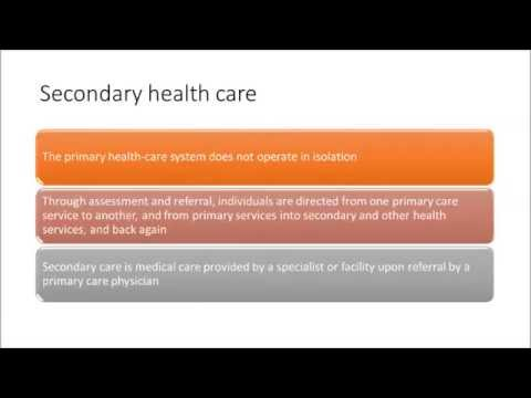 Module 1 Part 3 Secondary and Tertiary Health Care ORT5MES