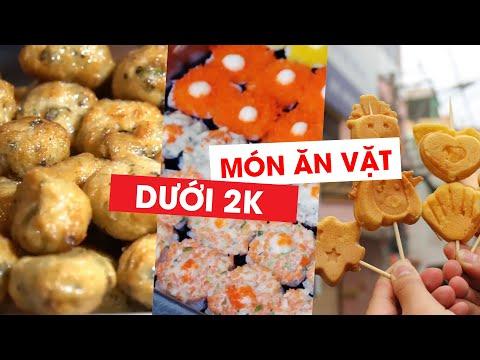 Ba món ăn vặt dưới 2 000 đồng cuốn hút giới trẻ Sài Gòn