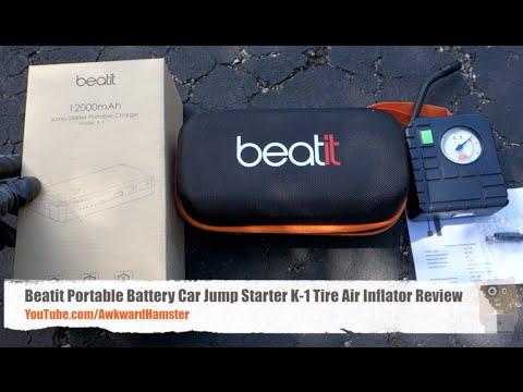 Portable Car Jump Starter >> Beatit Portable Battery Car Jump Starter K-1 Tire Air ...