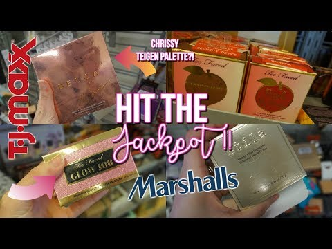 SO MUCH TOO FACED AT TJ MAXX!! BUDGET BEAUTY BUYS - HIGH END MAKEUP FOR CHEAP - 동영상