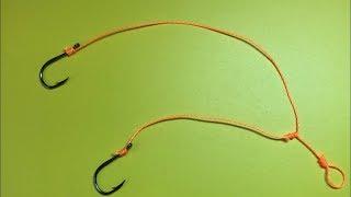Гачки не заплутаються | Як прив'язати гачок | Fishing Knots