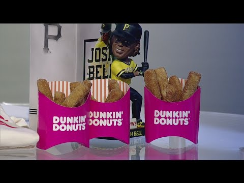 Dunkin' Donuts duces Donut Fries For National French Fry Day