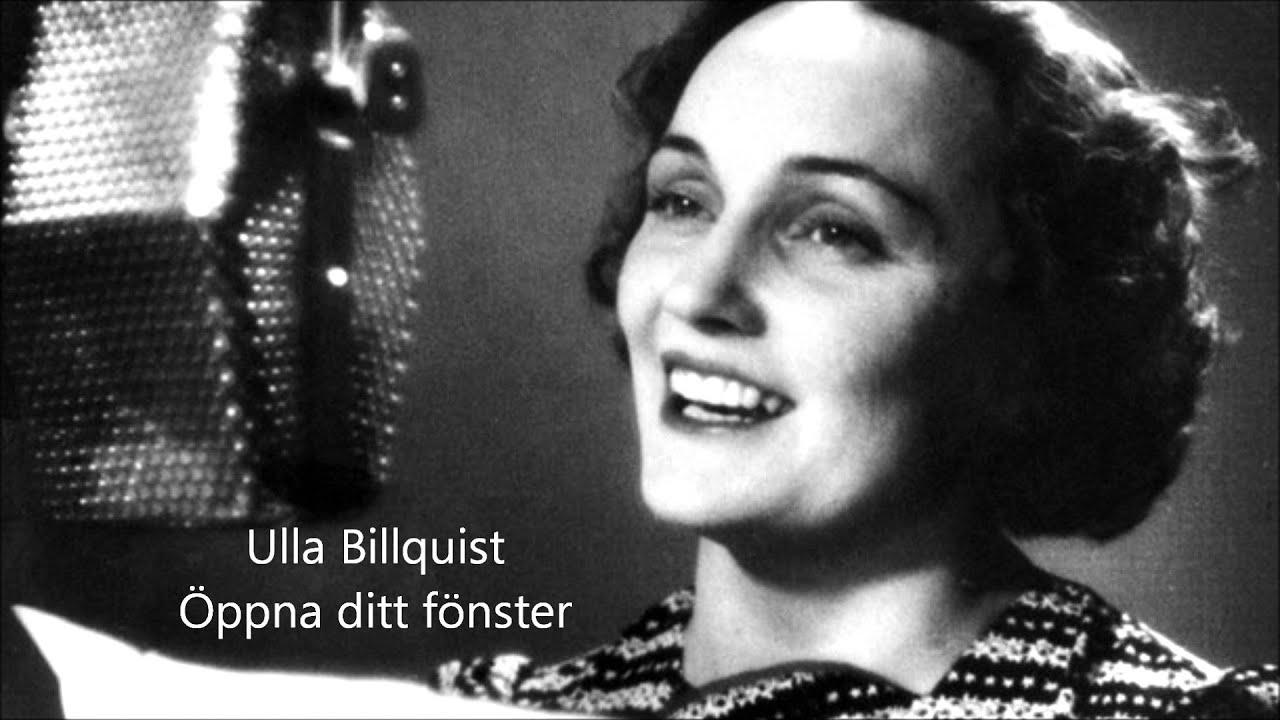Ulla Billquist - Öppna ditt fönster