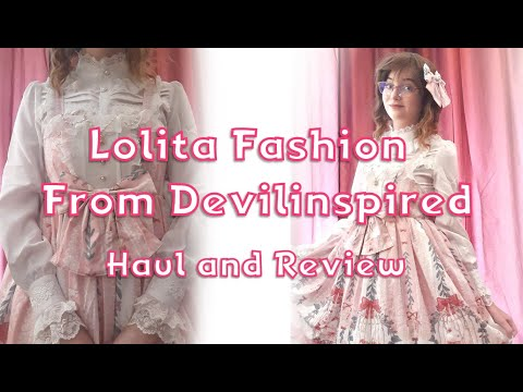 Lolita Fashion From Devilinspired - Haul And Review