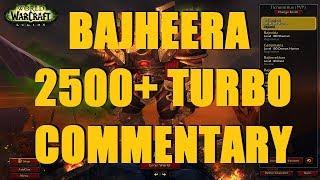 Bajheera - 2500+ TURBO CLEAVE: Rank 1 Warrior Tips & Commentary - WoW Legion 7.2.5 PvP