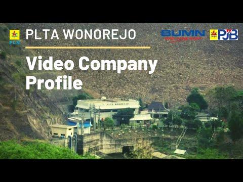 Video Company Profile PLTA WONOREJO - Subsidiary Of PT PJB UP Brantas