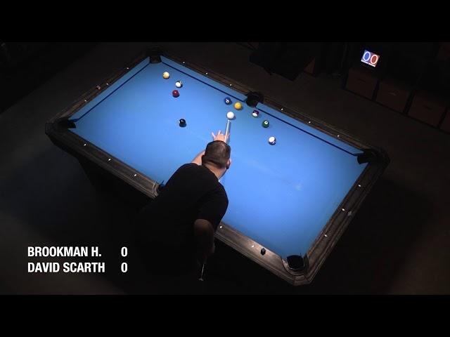 Brookman Holmes vs David Scarth (8-Ball, Race to 20)