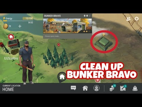 LAST DAY ON EARTH || Fight !! Try To Clear Up Bunker Bravo !!!